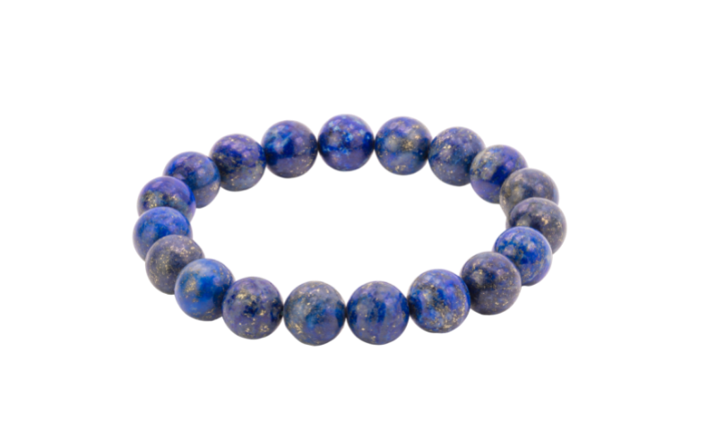 Armband-Lapislazuli blau