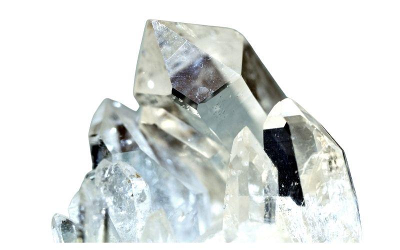 Bergkristall klar
