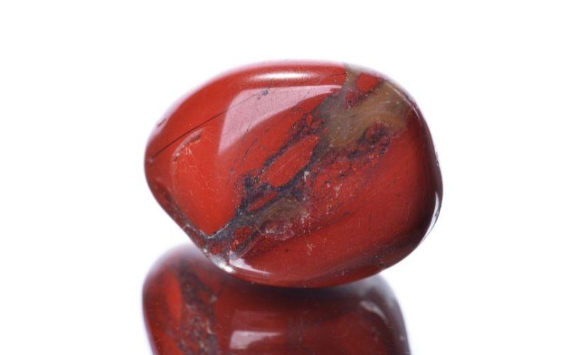 Jaspis-Trommelstein rot