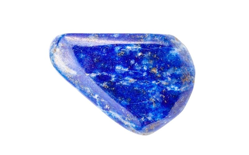 Lapislazuli-Stein blau